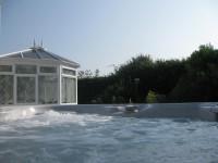 Hot Tub towards conservatory)