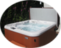 Aqua-massage Hot Tub